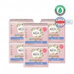 [Online Shop] GOODFEEL Organic Pure Cotton Sanitary Pad (Slim Wing - Large) 14p*6ea