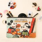 [W]10X10 Vintage Mickey&Minnie_Pouch