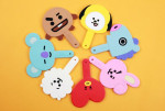 BT21 silicon compact mirror 1ea
