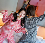 [Wedding] Attrangs Lovely Pril-Twin Check Pajama