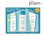 MAKEPREM 3items set ( Sun Fluid + cleansing+cream)
