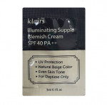 KLAIRS Illuminating Supple Blemish Cream SPF40++ 3mlx3ea