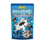 [F] HBAF Cookie & Cream Almond 190g