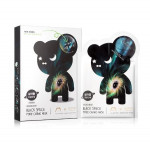 THE OOZOO Black space pore caring mask _5sheet