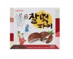 [F] LOTTE Choco Rice Cake Pie 375g  (10ea)