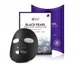 [SALE] SNP Black Pearl Renew Black Ampoule Mask 25ml*10ea