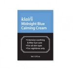 KLAIRS Midnight blue calming cream 3mlx3ea