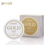 [Online Shop] PETITFEE Gold & EGF eye & spot Patch Eye patch 60pcs + Spot patch 30pcs