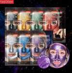PUREDERM Galaxy Peel-Off masks 10g