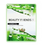 Beauty Friends II Essence Mask Sheet [Snail] 23gx10ea