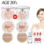 AGE20\'S Essence cover pact Set (Case1+Refill2+Puff2+Serum1+Lipstick1)