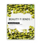 Beauty Friends II Essence Mask Sheet [Mung Bean] 23gx10ea