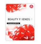Beauty Friends II Essence Mask Sheet [Pomearanate] 23gx10ea