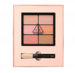 STYLENANDA 3CE PRO MULTI BLUSH COLOR PALETTE #SOFTENER