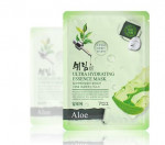 SHELIM ultra hydating essence mask [Aloe] *10ea