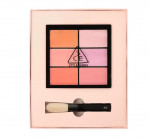 STYLENANDA 3CE PRO MULTI BLUSH COLOR PALETTE #PURE PLAY