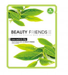 Beauty Friends II Essence Mask Sheet [Green tea] 23gx10ea