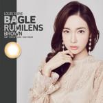 [LensMe] Louis Shine Bagle Rumilens Brown