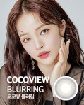 COCOVIEW Color Lense #BLURRING GRAY 1pair