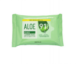 ARITAUM Aloe No-Wash Cleansing Tissues 20sheet