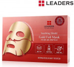 [W] LEADERS Ex Solution Soothing Shield Gold Foil Mask