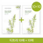 NATURE REPUBLIC Real Nature Mask Sheet (Tea Trees 20ea)