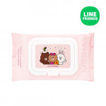 [E] MISSHA (Line Friends) Super Aqua Perfect Cleansing Oil In Tissue 30ea