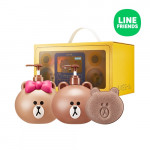 MISSHA Line Friends Edition Body Set Moringa 600ml*2ea + 1ea