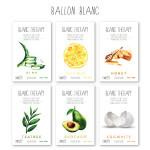 BALLON BLANC Blanc Theraphy Mask Sheet 6pack