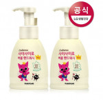 [R] Bbience PinkFong Bubble Hand Wash Big Size Powder 540ml 1+1