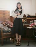 [R] MILK COCOA Jane Petal Blouse 1ea