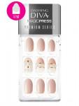 [W] DASHING DIVA Magicpress Premium MJP_004PR - Peach With Pearl