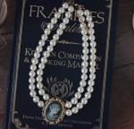 [R] MILK COCOA vintage cameo necklace