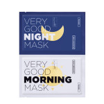 [W] VERITE Very Good Morning&Night Mask 5ea