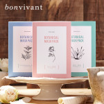 MEMEBOX BONVIVANT Botanical Rose Mask Pack 5ea