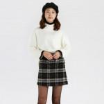 [W] ELANDMALL MIXXO knit Begie Size S