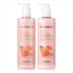 TONYMOLY The Sunhan Peach Body Set 500ml*2ea