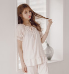 [W] EVENIE My Angel Layon Sleepwear Pink 1ea