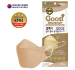 Good Manner KF94 Color Yellow Dust Mask 100pcs.(5Pieces*20)