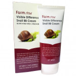 [E] FARMSTAY Visible Difference Snail BB Cream SPF50+ PA+++ 50g