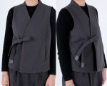 [R] ZIJANGSA [5145] (Female) hanbok with fine bone double-breasted vest top
