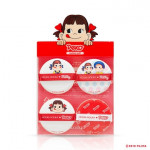 HOLIKAHOLIKA Sweet Peko Hard Cover Glow Cushion Puff 4ea
