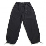 [R] Piecemaker NYLON BELTED PANTS (BLACK)