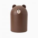 [W] Brown Mini Wastebasket