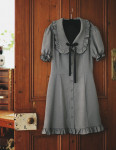 [W] MILKCOCOA Amelie Dress Line Martin Check Dress (S size) 1ea