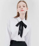 [W] MIXXMIX Midnight Ribbon Shirt 1ea