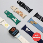 [R] Romane Apple Watch Silicone Strap for 38-40mm