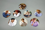 [S] Bangtan Boys - Pin button badge & hand mirror 1ea