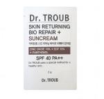 [S] Dr.TROUB Skin Returning Bio Repair+Suncream SPF40PA++ 2g*10ea