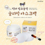 [W] IMSELENE Donkey Milk Holic Sleeping Mask Pack